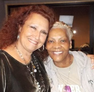 Dionne Warwick and Melissa Manchester