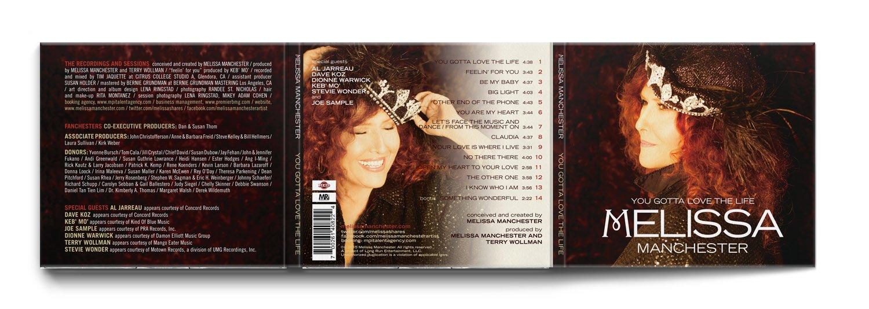 Melissa Manchester CD  Design