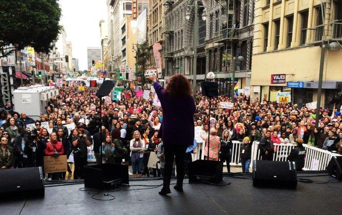 Melissa Manchester #womensmarchla