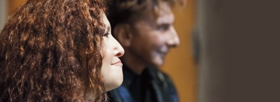 Melissa Manchester and Barry Manilow