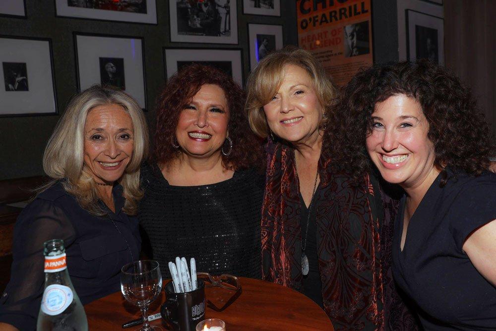 Eda Sorokoff, Melissa Manchester, Brenda Vaccaro, Marcy Heisler